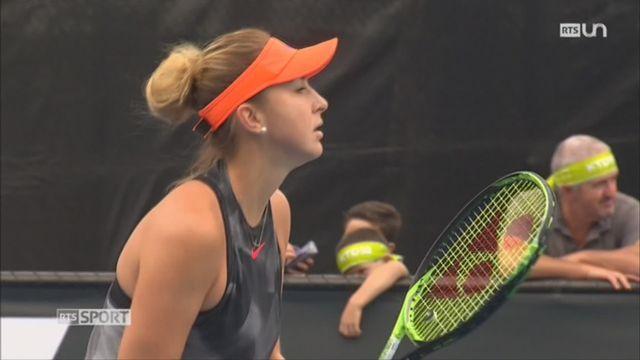 Tennis: Belinda Bencic aborde l'Open d'Australie aux côtés d'un nouvel entraîneur [RTS]