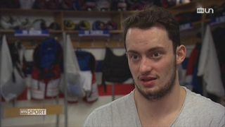 Hockey: l'histoire bouleversante de Tim Bozon [RTS]