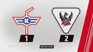 39e journée, Kloten - Fribourg (1-2 tb): tous les buts de la rencontre [RTS]
