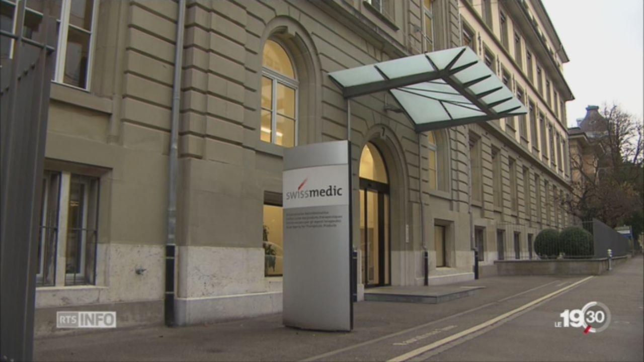 Anti-cancéreux périmés: recours de Swissmedic contre les peines [RTS]