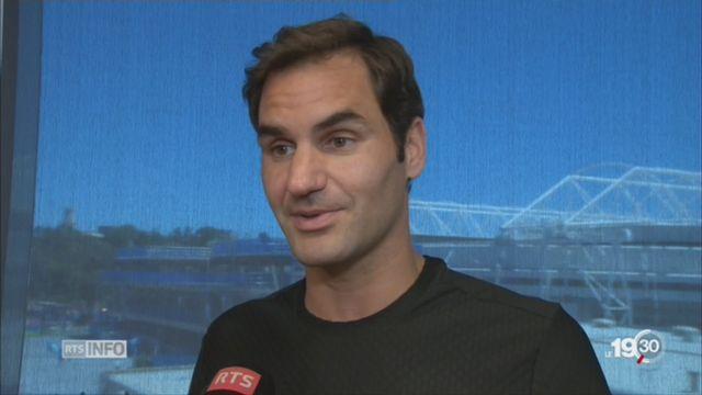 Open d'Australie: le favori Federer reste sur ses gardes [RTS]