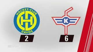 40e journée, Davos - Kloten (2-6): tous les buts de la rencontre [RTS]