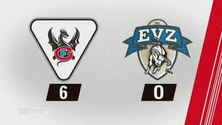 40e journée, Fribourg - Zoug (6-0): tous les buts de la rencontre [RTS]