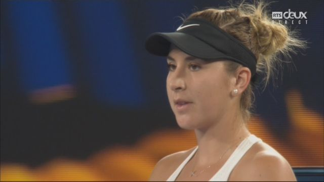 Dames, 1er tour: Bencic (SUI) – V.Williams (USA) (6-3) [RTS]