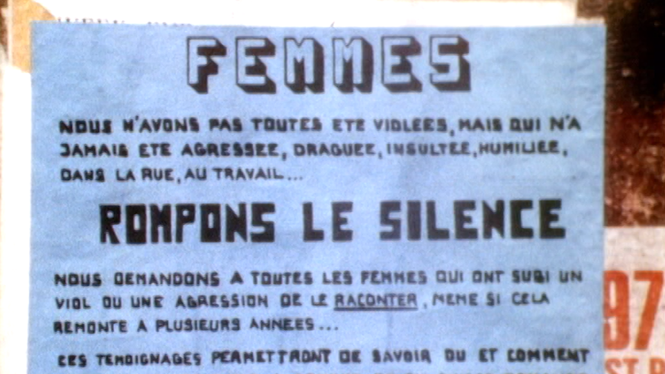 Affiche d'action féministe du Centre-Femmes de Genève, 1979. [RTS]