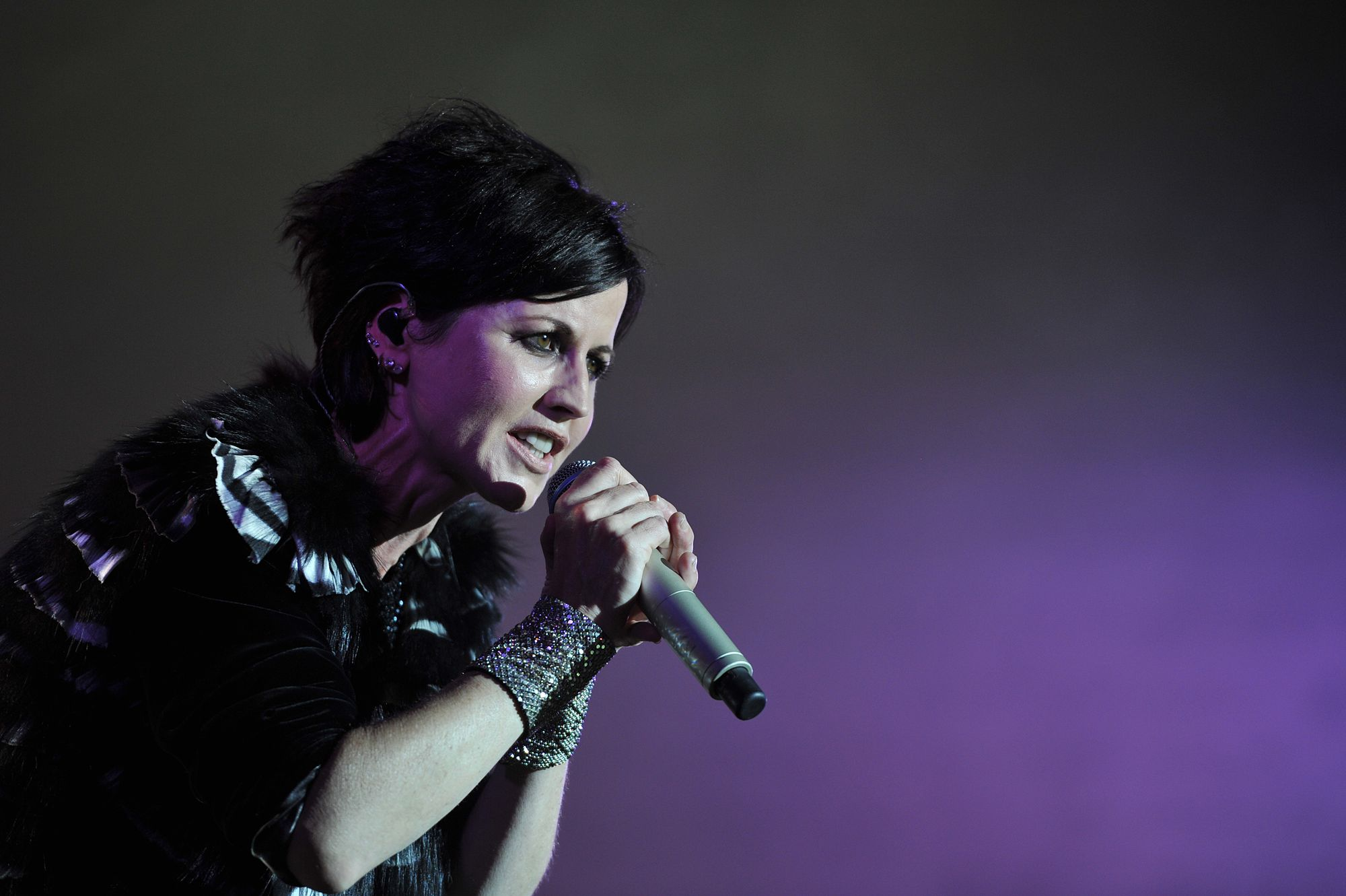 Dolores O'Riordan du groupe The Cranberries à la 23ème édition du Festival Blues Passions de Cognac en 2016.