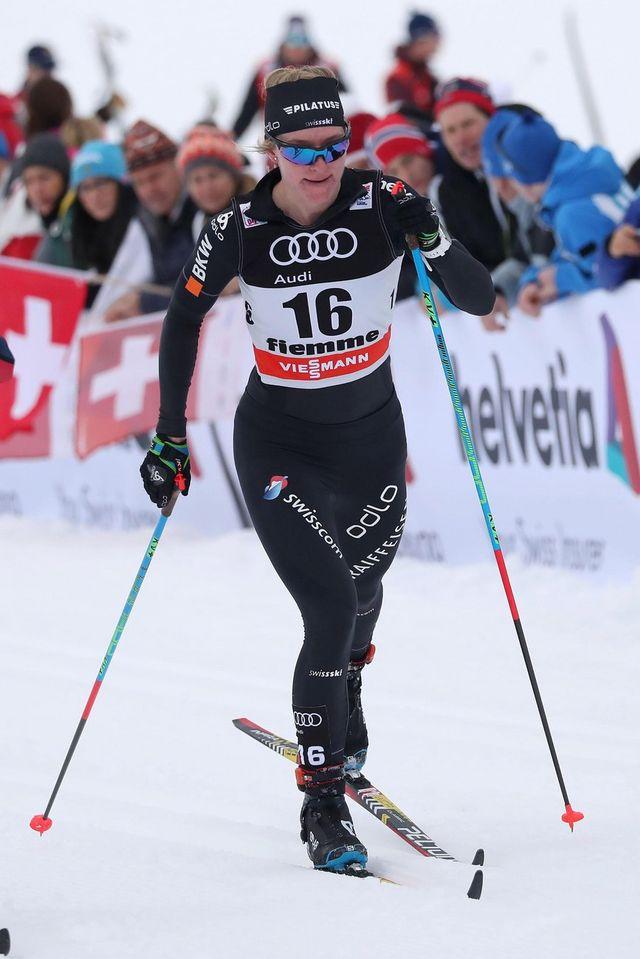 Ski nordique, coupe du monde, 10 km classique dames, Planica [ANDREA SOLERO - Keystone]