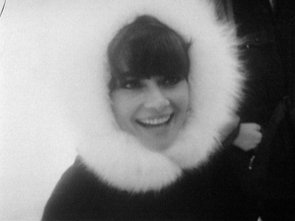 Audrey Hepburn aux JO de Grenoble. [RTS]