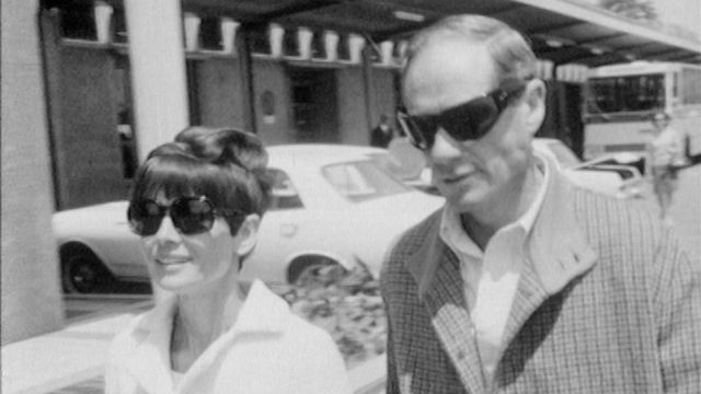 Audrey Hepburn et Mel Ferrer [RTS]