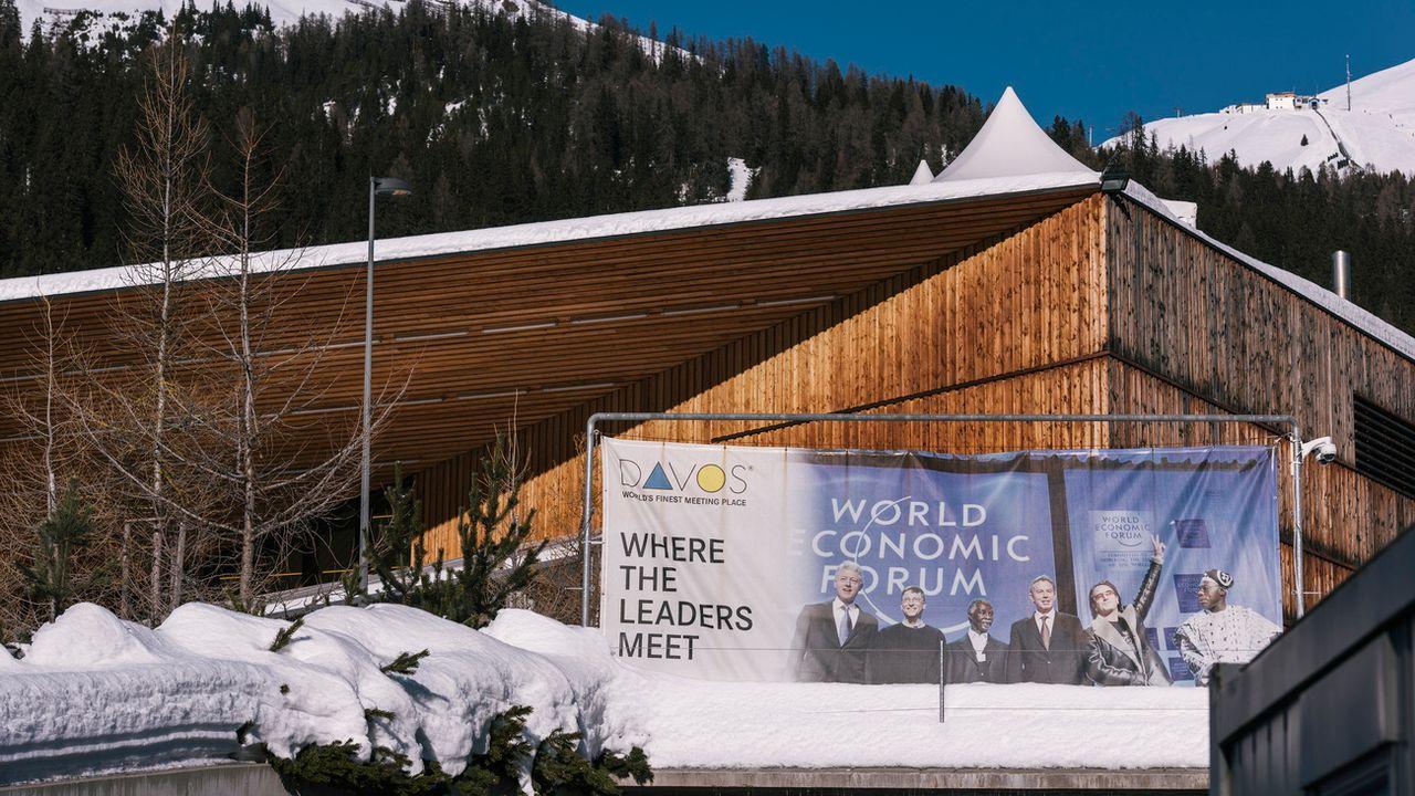 Le centre de congrès de Davos à quelques jours de l'ouverture du 48e World Economic Forum.  [Christian Beutler - Keystone]