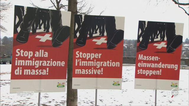 UDC-ASIN: Initiative contre la libre circulation [RTS]
