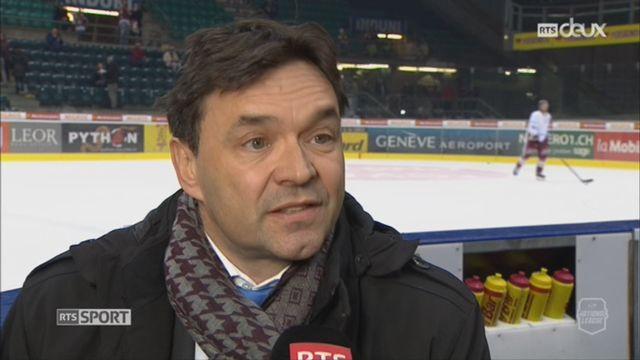 Hockey: le point sur l'avenir financier du Genève-servette avec Pierre-Alain Regali, directeur du GSHC [RTS]