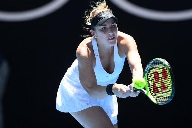 Belinda Bencic a échoué après une série de 16 victoires. [Julian Smith - Keystone]