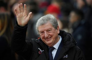 Roy Hodgson, manager de Crystal Palace. [Toby Melville - Reuters]
