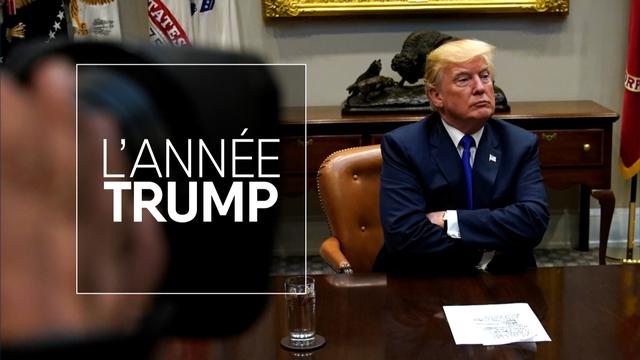 Géopolitis: L'année Trump, rétrospective 2017 [Jonathan Ernst  - Reuters]