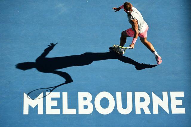 Finaliste malheureux l'année passée, Nadal vise une 2e couronne à Melbourne. [Dean Lewins - Keystone]