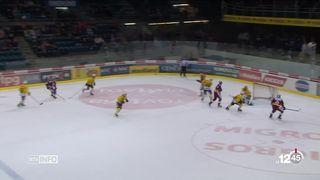 Hockey: Fribourg et Genève se sont inclinées face à Zoug et Berne [RTS]