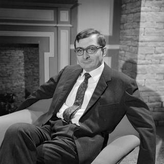 Le réalisateur Claude Chabrol en 1961. [Claude Mallinjod - INA/AFP]