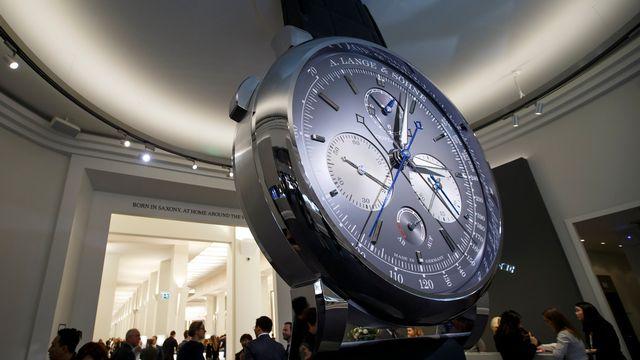 La 28ème édition du Salon international de la haute horlogerie (SIHH) se tient du 15 au 19 janvier à Genève. [Keystone]