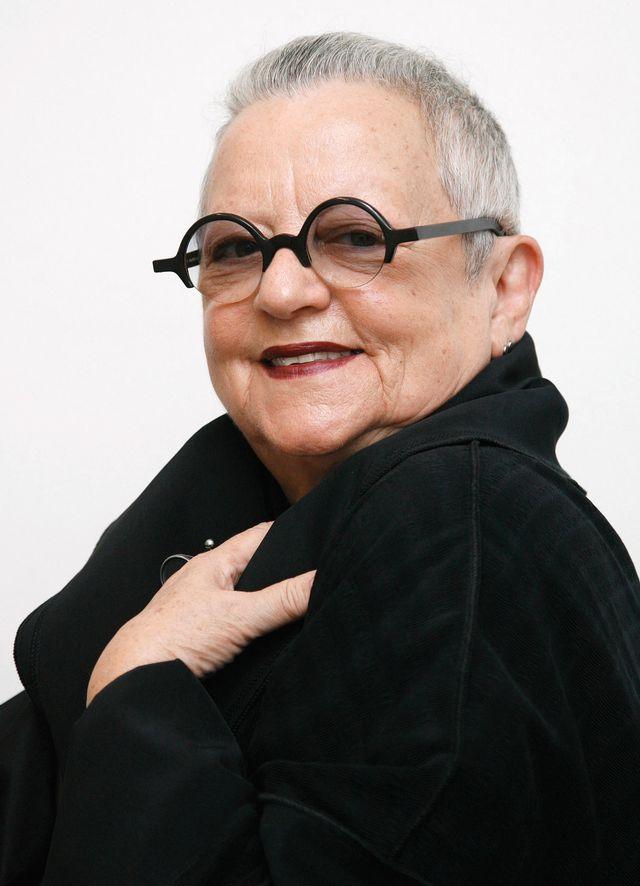 La créatrice de mode Christa de Carouge, photographiée en 2008. [Steffen Schmidt - Keystone]