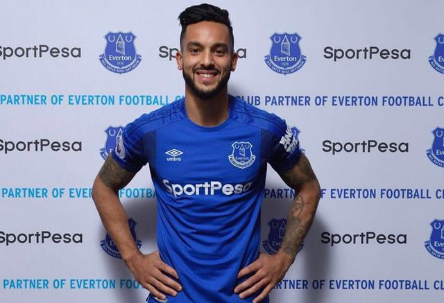 Theo Walcott porte désormais les couleurs d'Everton. [Twitter - Theo Walcott - SRI]
