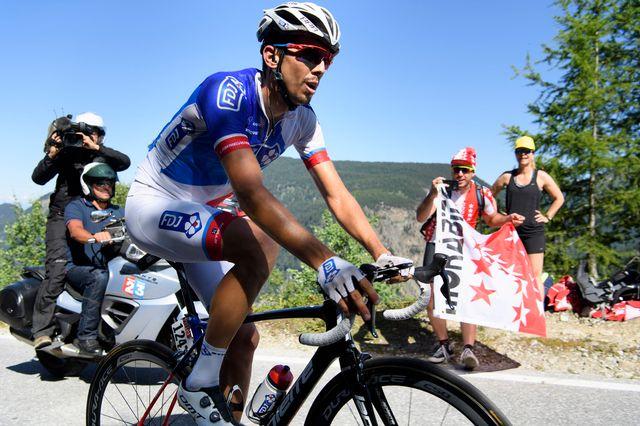 Morabito a terminé l'étape à la 123e place. [Laurent Gillieron - Keystone]