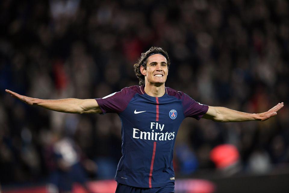 Cavani est définitivement entré dans la légende du club parisien. [Christophe Simon - AFP]