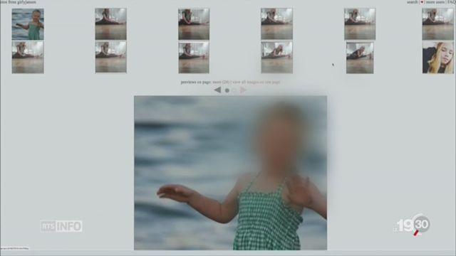 Réseaux sociaux: photos d'enfants détournées [RTS]