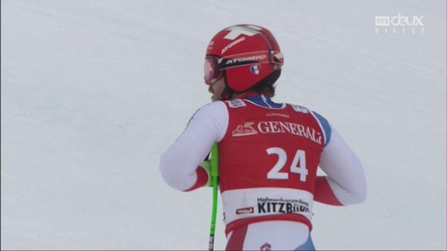 Kitzbuehel (AUT), super G messieurs: Thomas Tumler (SUI) [RTS]