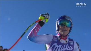 Cortina d'Ampezzo (ITA), descente dames: seconde hier, Lindsey Vonn remporte la seconde descente du week-end [RTS]