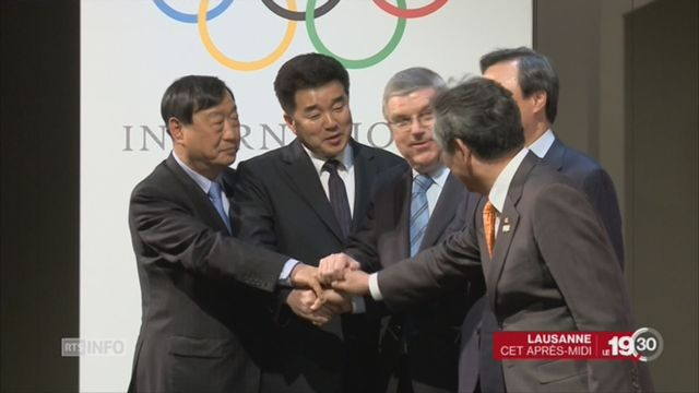 Les deux Corées ensemble aux Jeux Olympiques de Pyeongchang [RTS]