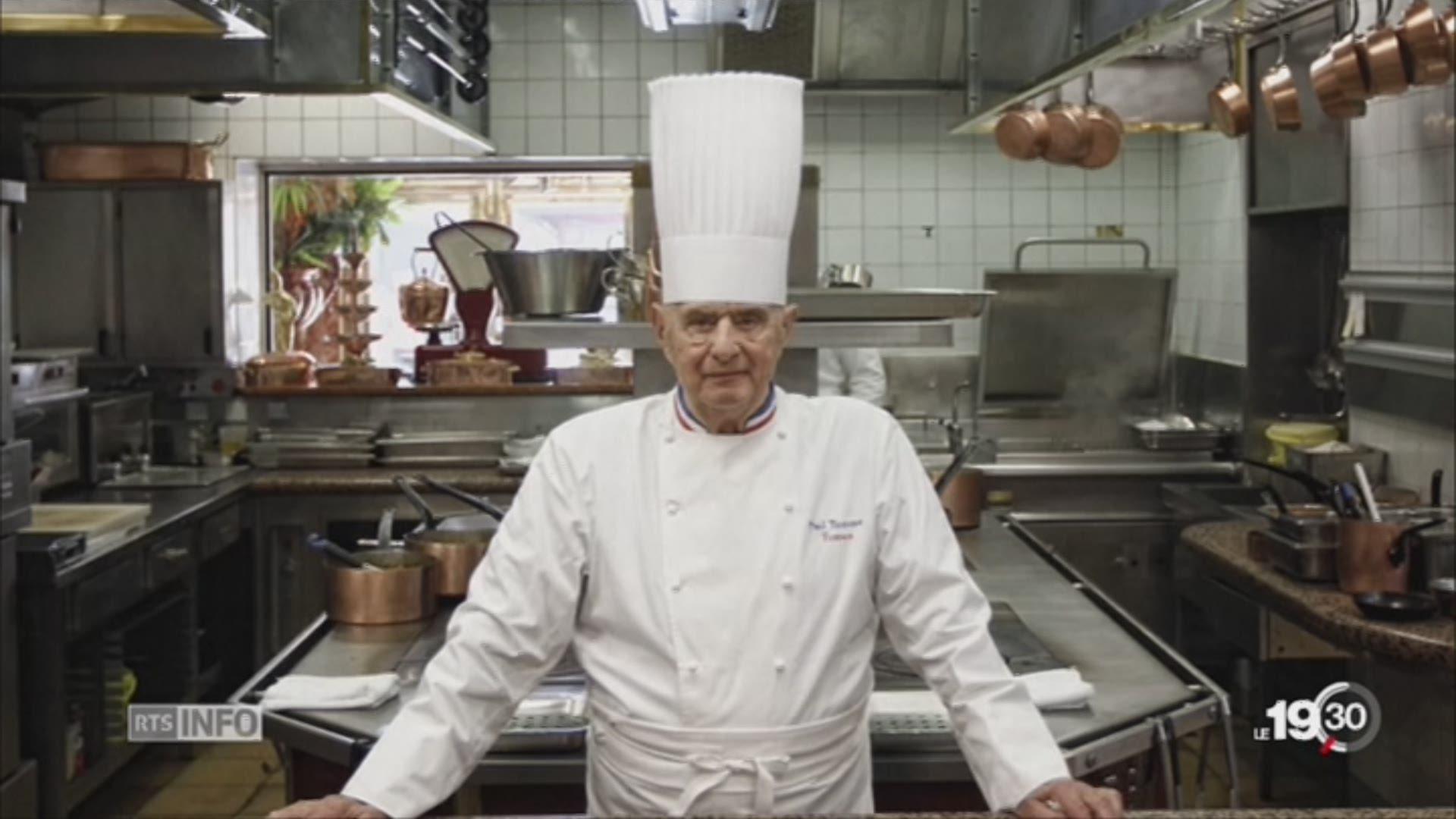 Paul bocuse c l bre chef cuisinier fran ais est d c d - Chef de cuisine definition ...