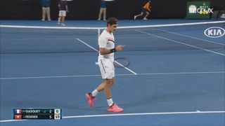 Tennis - Open Australie: Roger Federer se qualifie pour les 8e [RTS]