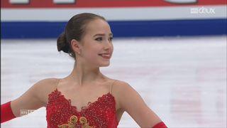 Patinage artistique - Moscou: danse sur glace et style libre féminin [RTS]