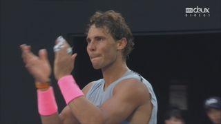 Messieurs, 8e : Nadal (ESP) bat Schwartzman (ARG) (6-3, 6-7, 6-3, 6-3) [RTS]
