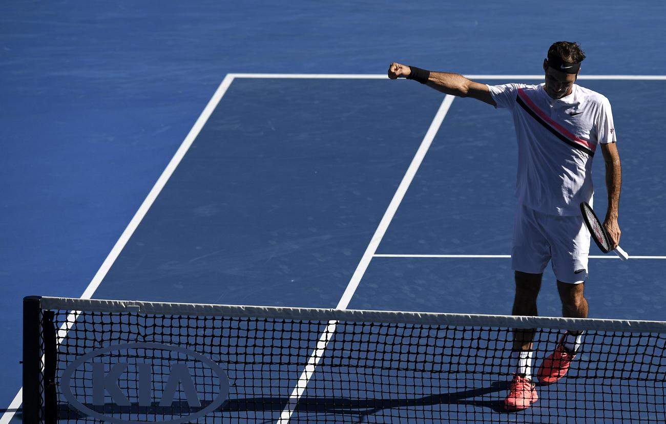 Federer face au défi de la jeunesse — Open d'Australie