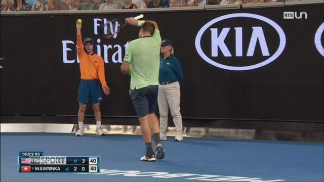 Tennis: Stan Wawrinka ne s'est pas tout à fait remis de sa blessure au genou [RTS]