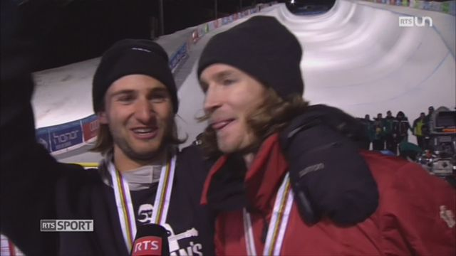 Snowboard: portrait du champion olympique Iouri Podladtchikov, qui revient d'une grave blessure au genou [RTS]