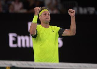 Sandgren brille de 1000 feux pour son 1er Open d'Australie. [Tracey Nearmy - Keystone]