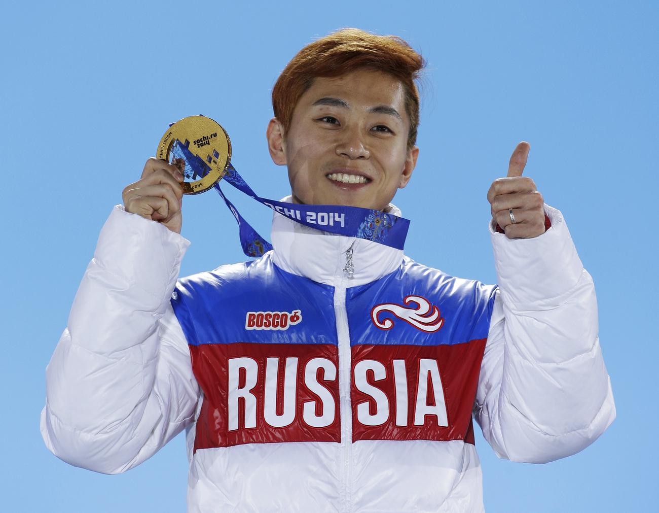 PyeongChang 2018: la star du short-track Viktor Ahn interdite de JO