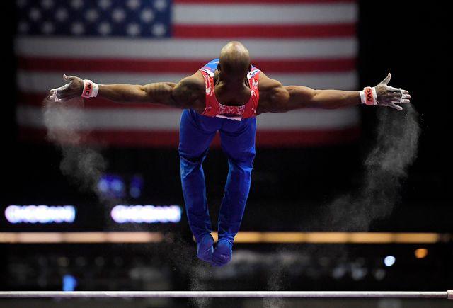 La gym américaine est dans la tourmente depuis plusieurs semaines. [Mark J. Terrill - Keystone]