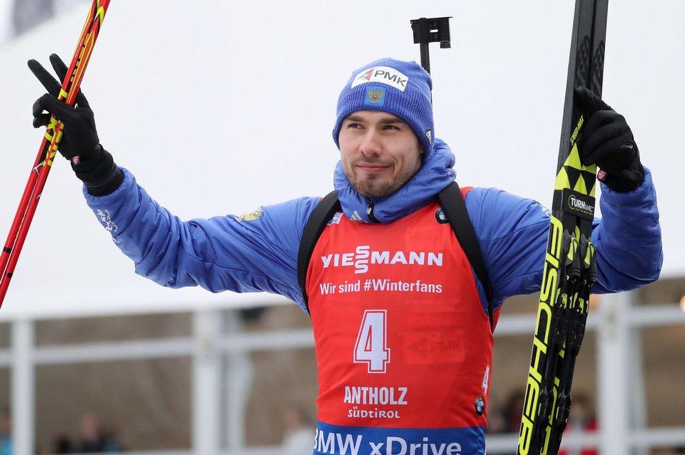 Champions olympique à Sotchi, Anton Shipulin ne verra pas PyeongChang. [Luciano Solero - Keystone]