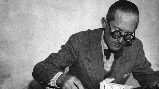 Le Corbusier, de son vrai nom Charles Edouard Jeanneret [AP PHOTO/AFP]