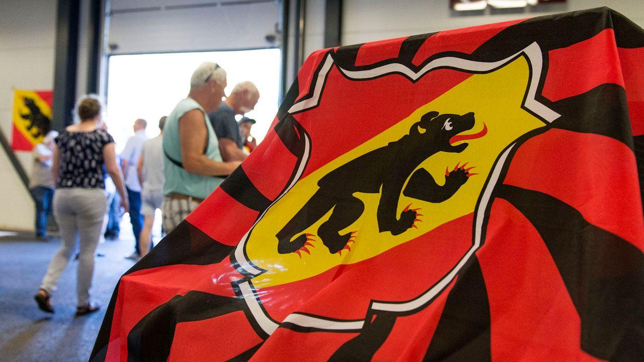 Le canton de Berne ne fera pas de gros investissements pour Moutier, qui reste bernoise, a priori jusqu'en 2021.  [Thomas Delley - Keystone]