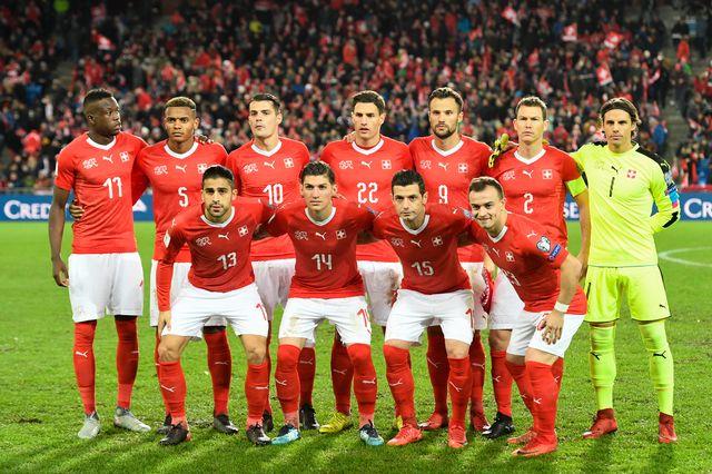 L'équipe de Suisse sait ce qui l'attend dans la Ligue des Nations. [Georgios Kefalas - Keystone]