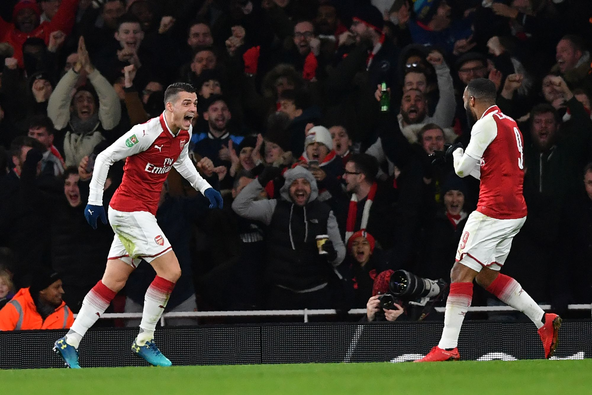Arsenal file en finale face à Manchester City — Carabao Cup