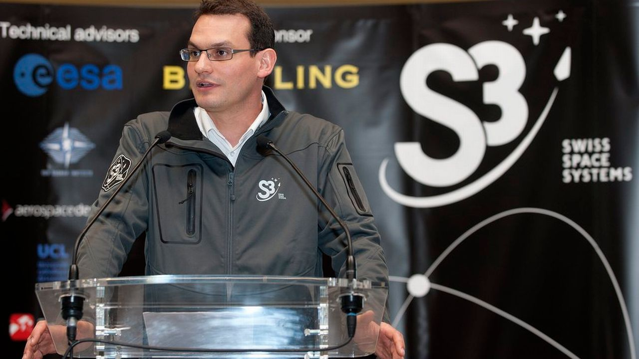 Pascal Jaussi, fondateur de la société S3 photographié en mars 2013. [Sandro Campardo - Keystone]