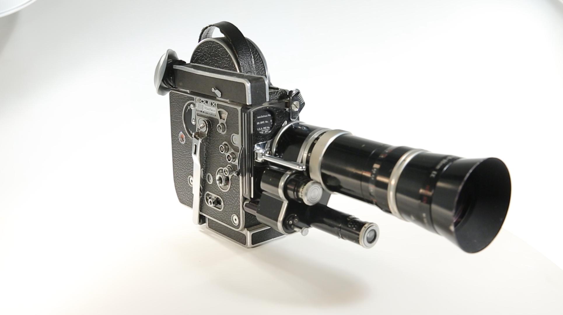 La caméra Bolex