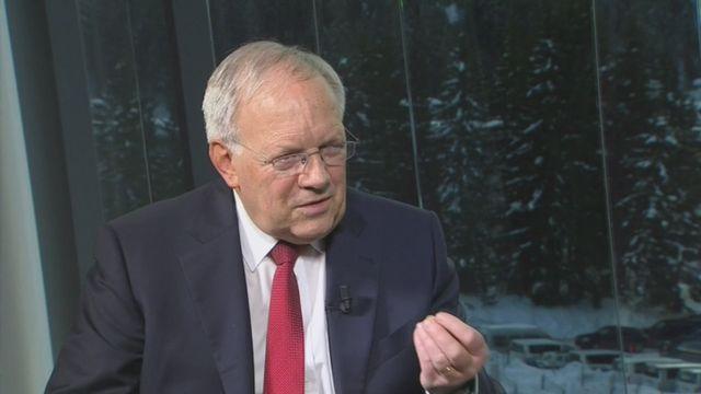 Pas d'accord avec l'UE avant plusieurs années, selon Johann Schneider-Ammann [RTS]