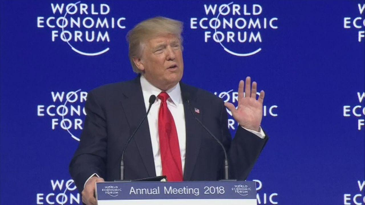 """Donald Trump appelle à un commerce """"équitable"""" [RTS]"""